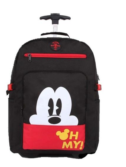 Kit Mochilete Mickey Special Edition 51927 +garrafa Original