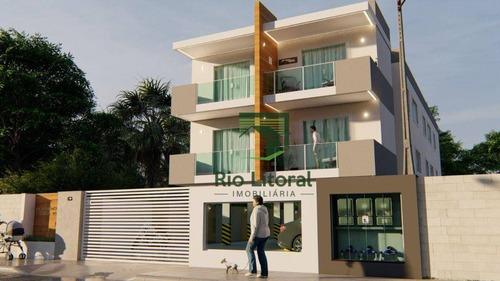 Apartamento Com 2 Dormitórios À Venda, 66 M² Por R$ 240.000,00 - Jardim Bela Vista - Rio Das Ostras/rj - Ap0617