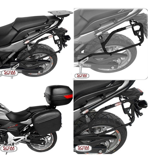 Suporte Baú Mala Lateral Monokey Moto Nc 750x 2016/19