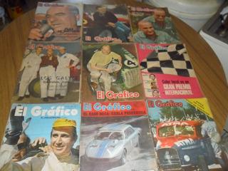 23 Revistas Antiguas¡ El Grafico Automovilismo¡ Coleccion¡¡