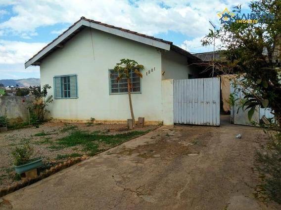 Casa À Venda Com 360 M² De Terreno Por R$ 295 Mil No Jardim Alvinópolis Em Atibaia Sp - Ca1910