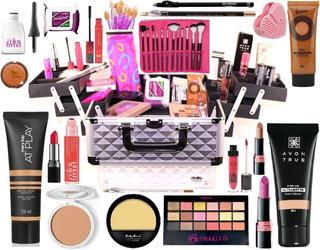 Maleta Maquiagem Completa Base Matte Marykay V378