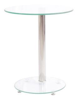 Mesa De Costado Glass -promo Cuarentena