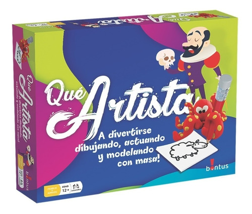 Juego De Mesa Que Artista Bontus 108