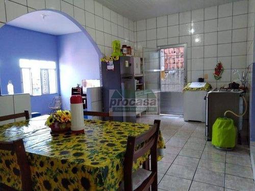Imagem 1 de 13 de Casa Com 4 Dormitórios À Venda, 96 M² Por R$ 300.000,00 - Alvorada - Manaus/am - Ca4174
