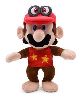 Peluche Mario Bros Mono Disfraz Dk Mario Odyssey Nintendo
