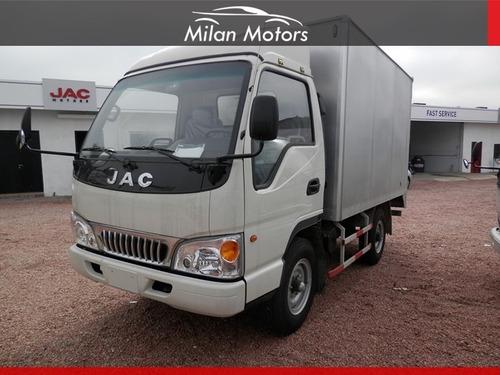 Camion Jac Hfc 5035 K Box Furgon Aluminio Financio Consulte