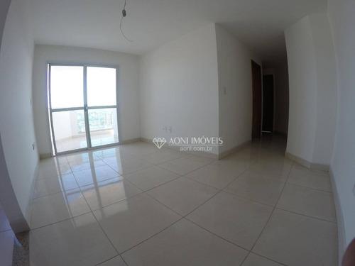 Apartamento Com 2 Dormitórios À Venda, 70 M² Por R$ 375.000,00 - Itaparica - Vila Velha/es - Ap0831