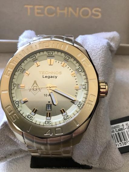 Relógio Technos Original Maçonaria, Símbolo Maçônico