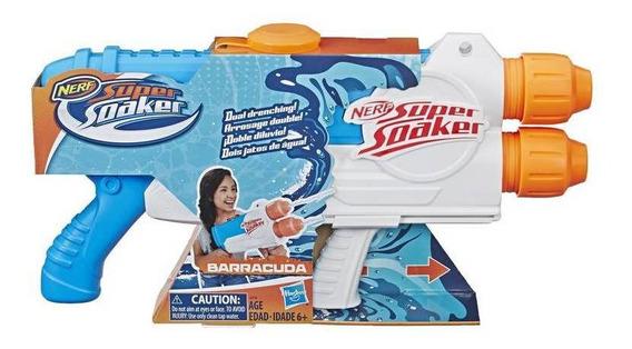 Lançador Água Nerf Super Soaker Soa Barracuda - Hasbro E2770