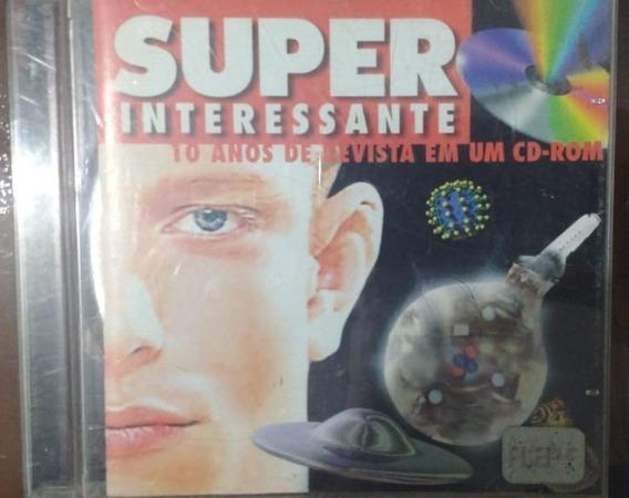 Super Interessante 10 Anos Revista Em Um Cd Rom