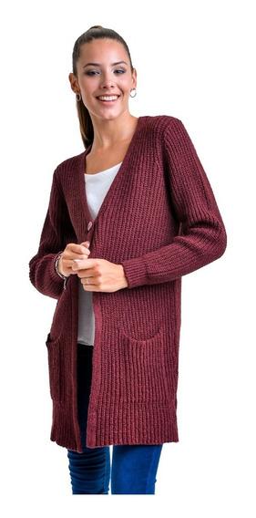 Mauro Sergio Sweater- Saco Largo Dama- Art 437