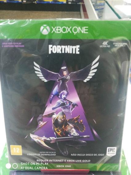 Jogo Fortnite Fogo Sombrio Xbox One Mídia Digital Lacrado
