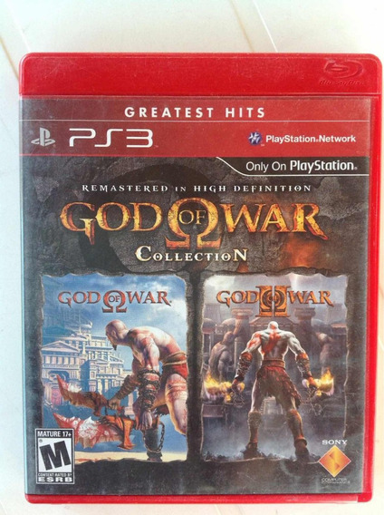 Ps3 Game Godo Of War Collection