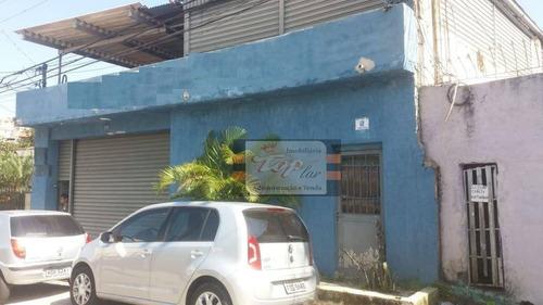 Galpão Para Alugar, 400 M² Por R$ 4.150/mês - Jardim São José - São Paulo/sp - Ga0035