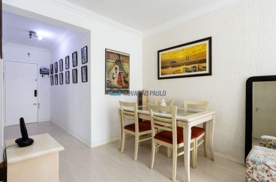 Apartamento No Metrô Saúde , 2 Dormitórios, Sala Com Sacada, Um Vaga De Garagem Coberta E Fixa!! - Bi25528