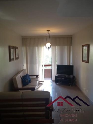 3 Dormitórios Sendo 1 Suíte No Gonzaga Santos Sp - 2682