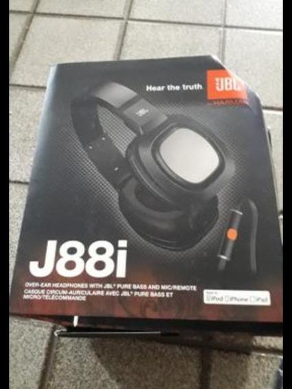 Fone Jbl J88i Original - Tem Caixa E Bolsa