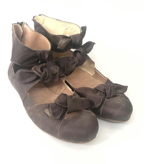 Zapatos De Cuero Correlola, 3299 Marron Moño