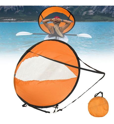 Vela Sail Para Kayak Incluye Bolso 118 Cm Navegar Sin Remos