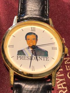 Reloj Presidencia Carlos Menem Para Coleccionistas Nuevo