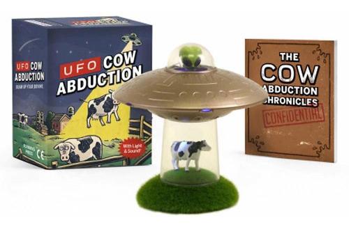Figura Ufo Cow Abduction: Beam Up Your Bovine / Con Luz