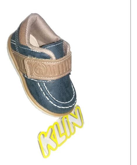 Tênis Klin Infantil Cravinho Casual Petroleo/c 166.064000-01
