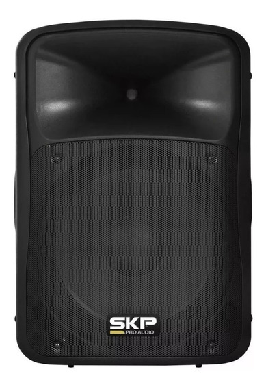 Caixa Ativa 200w Profissional Skp Sk 3p Preta