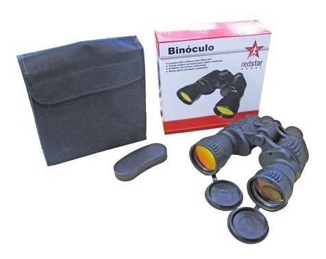 Binoculos Anti-reflexo Com Bolsa E Bussola 7x50mm