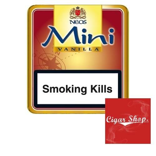Cigarro Neos Mini Red Vanilla X 10 Cigars Cigar Shop