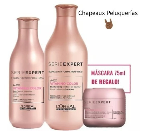 Kit Vitamino Color: Shampoo 300ml. + Acon 200ml + Regalo
