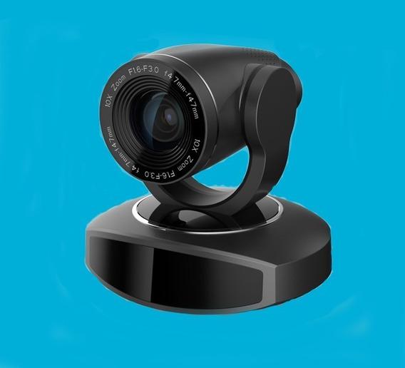 Camera Ptz Videoconferência Full Hd - 1080p@60 Fps 10x Zoom