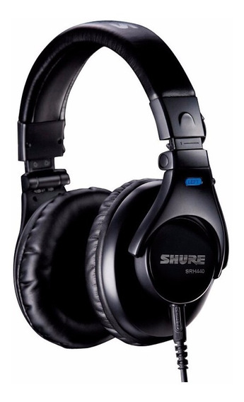 Fone De Ouvido (headphone) Shure Srh440a - Ac1458