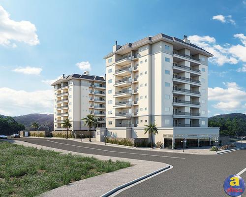 Imagem 1 de 11 de Apartamento Com 2 Quartos Sendo 1 Suíte Com 1 Vaga De Garagem No Bairro Casa Branca Em Itapema/sc - Imobiliária África - Ap00375 - 69675953