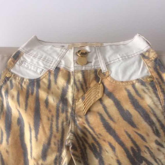 Pantalón Importado Talle 22 Estampado Sebra
