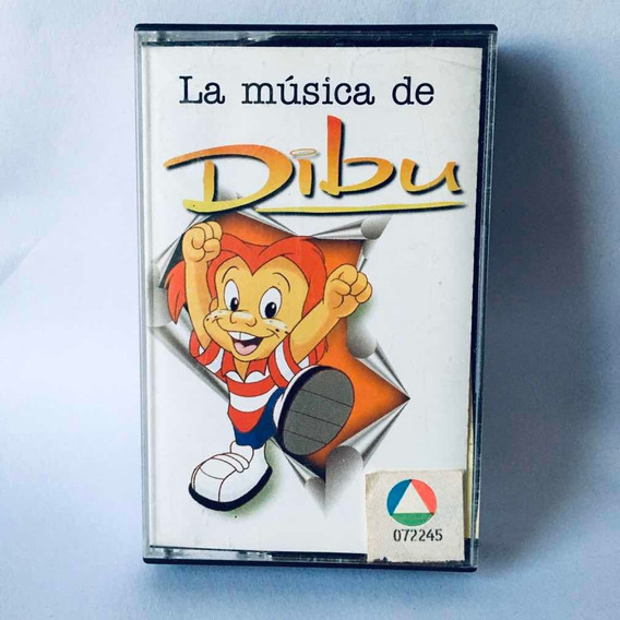 Dibu - La Música De Dibu Cassette Nuevo + Sticker