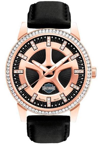 Reloj Harley Davidson Para Hombre Original 78l111 Timesquare