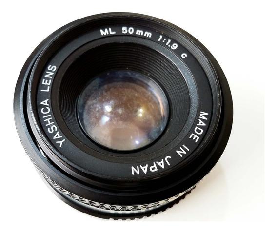 Lente Yashica 50mm F1.9 Full Frame Canon Nikon Sony