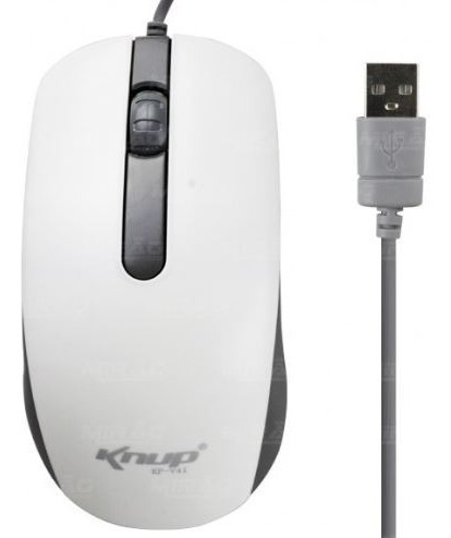 Mouse Óptico Usb Knup Kp-v41