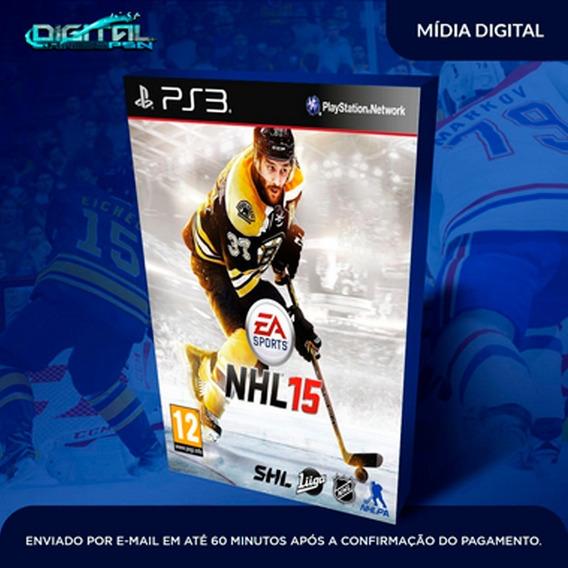 Nhl 15 Ps3 Psn Midia Digital Envio Agora!