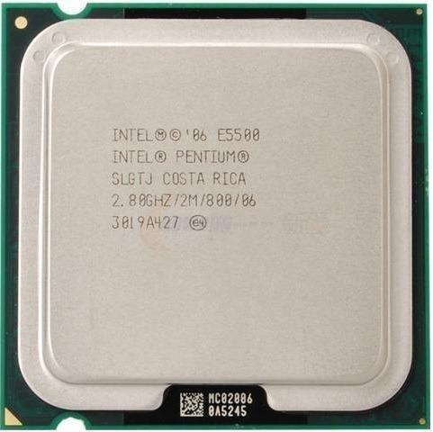 Processador Intel Dual Core E5500 2.8 Ghz Lga775 12x S/ Juro