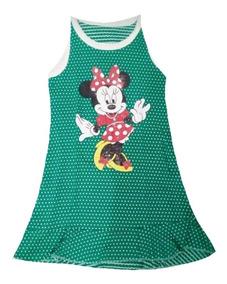 Kit Atacado 5 Vestido Vestidinho Infantil Personagens Menina