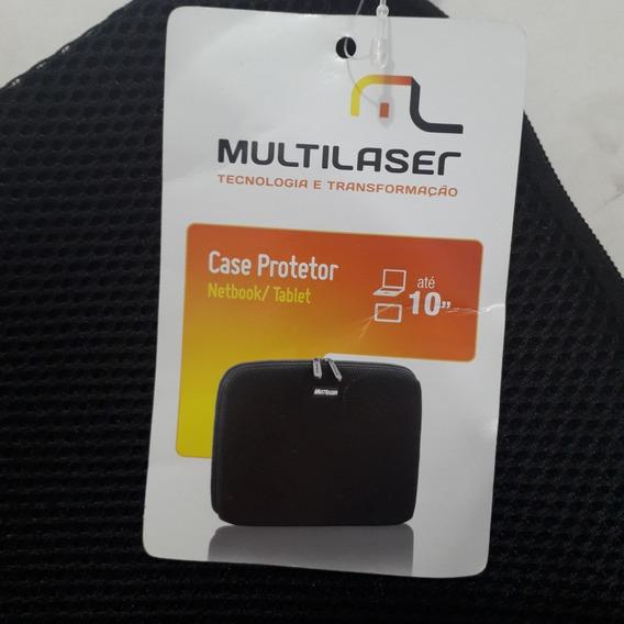 Capa Case Netbook/tablet Multilaser Até 10 P. - 29 X 24 Cm
