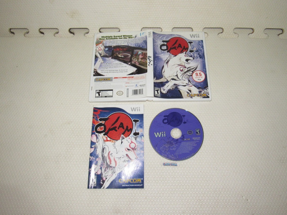 Okami Original Nintendo Wii Completa Midia Fisica