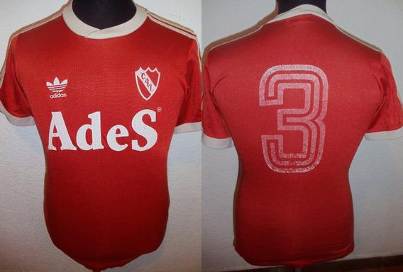 Camiseta De Independiente adidas De 1994 #3 De Niño Talle 04