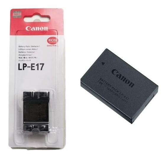 Bateria Lp-e17 Para Câmeras Canon Pronta Entrega Lacrada