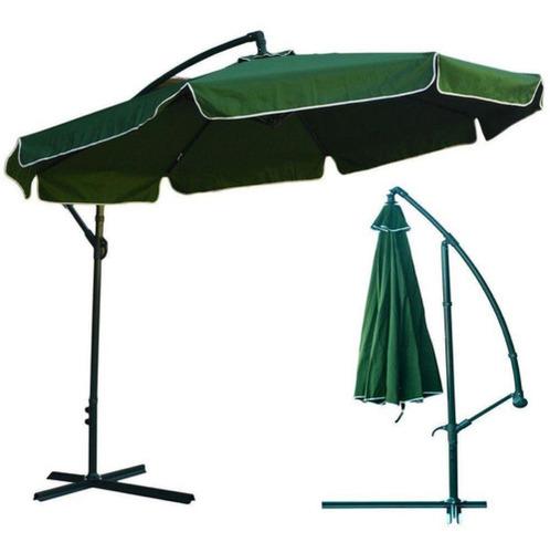 Ombrellone Suspenso Regulável 2.5m Verde Belfix