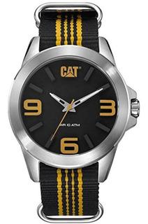 Reloj Cat Para Hombre (yt14161137) Yt Date Pulso De Mylon