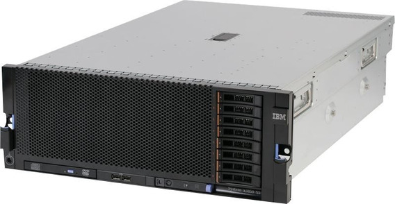 Servido Ibm X3850 X5 4x Xeon 8core X7560 128gb 1.2tb Hd