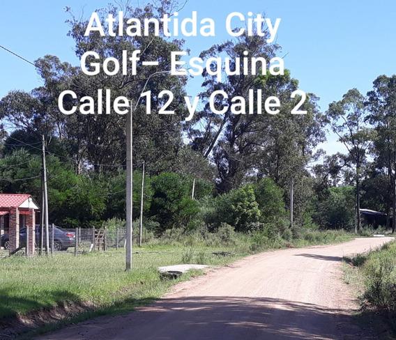 Atlantida City Golf Dueño Esquina 600 M2 Calle 12 Y Calle 2